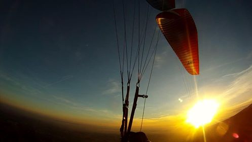 Paragliding in Bassano