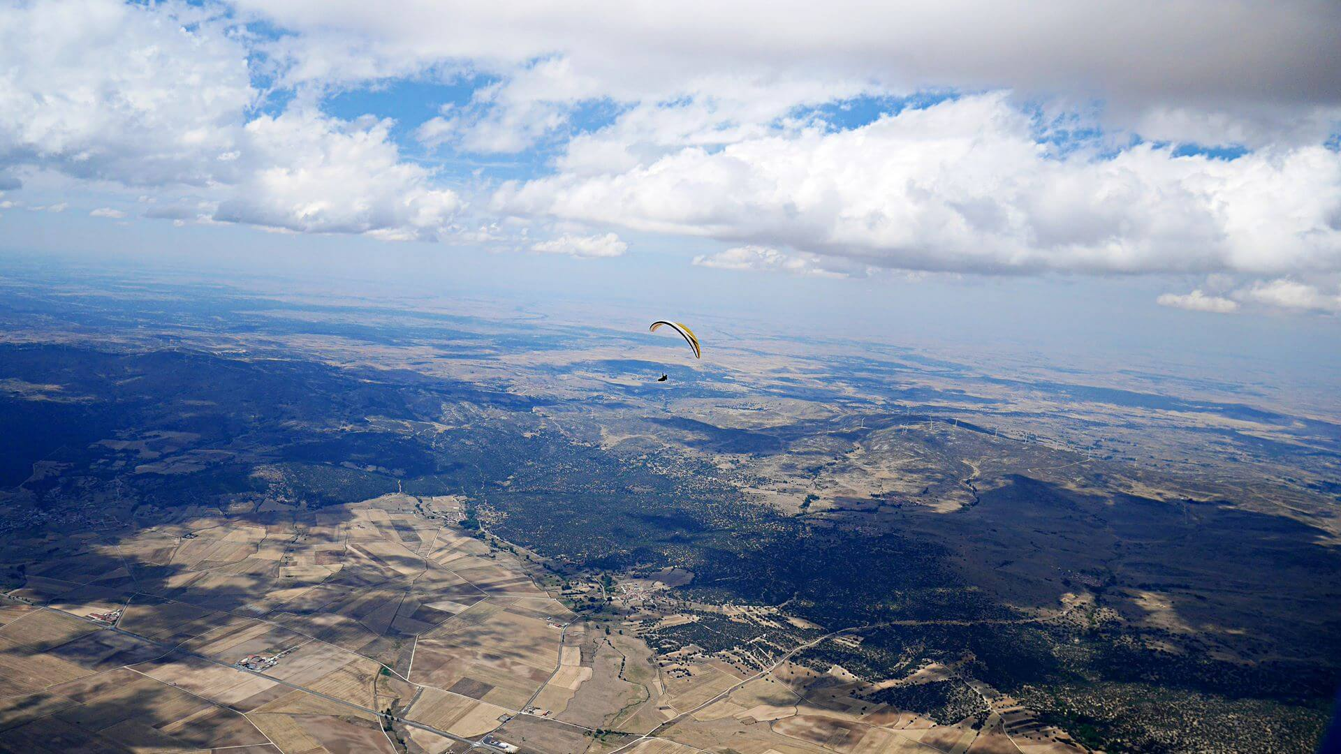 Cross Country Paragliding